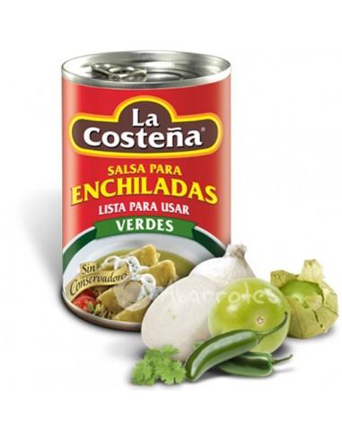 Salsa Enchiladas Verdes  - Caja