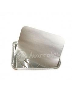 Tapa Cartón para Envase Aluminio 2 Divisiones Rect. - Caja