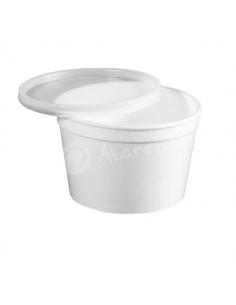 Envase Circular Blanco - 500 cc - Punto Químico - Caja