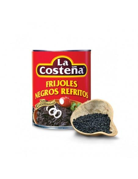 Frijoles Negros Refritos