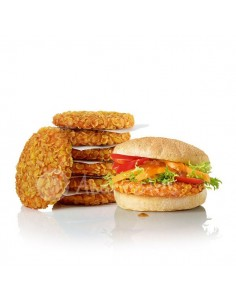Crunchy Chik'n Burger Spicy - Salomon - Caja