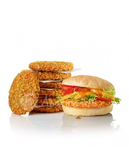 Crunchy Chik'n Burger Spicy