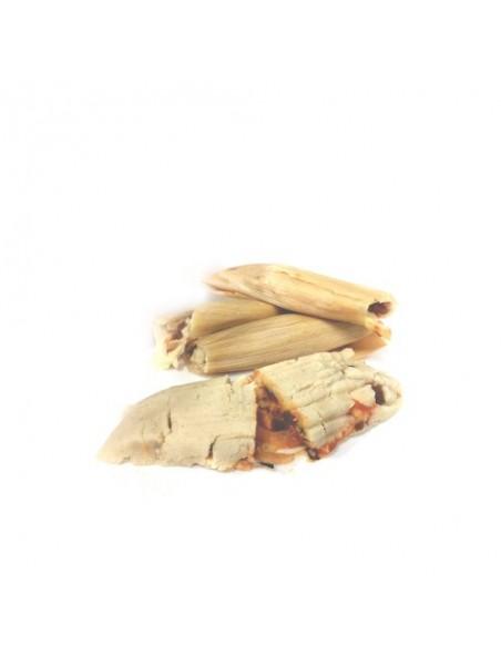 Tamales de Queso y Rajas Poblano