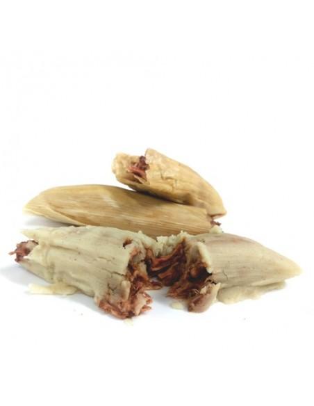 Tamales de Pollo con Mole