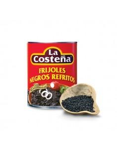Frijoles Negros Refritos 3 kilo