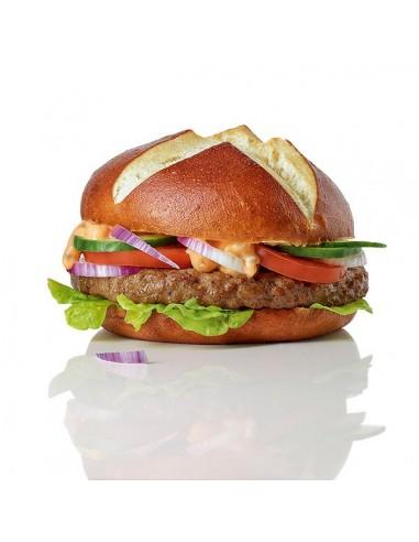 Pan Hamburguesa Pretzel