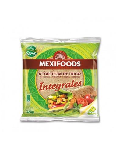 Tortilla Trigo Integral 20 cm
