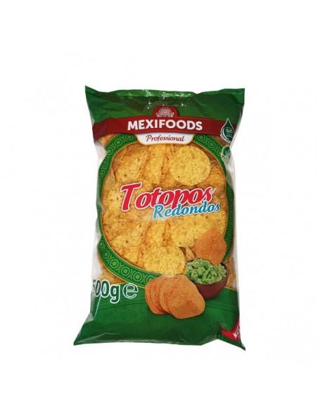 Totopos Fritos Redondos