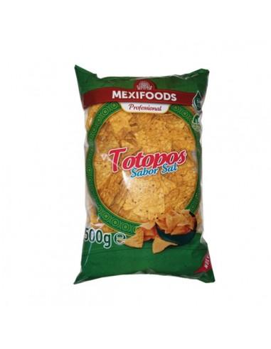Totopos Fritos Triangulares