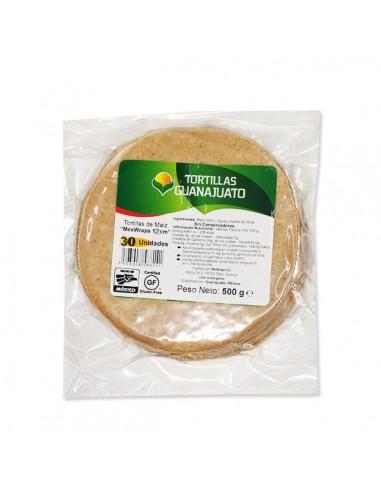 "Tortilla Maiz Blanco 12 cm ""Mex Wraps"""