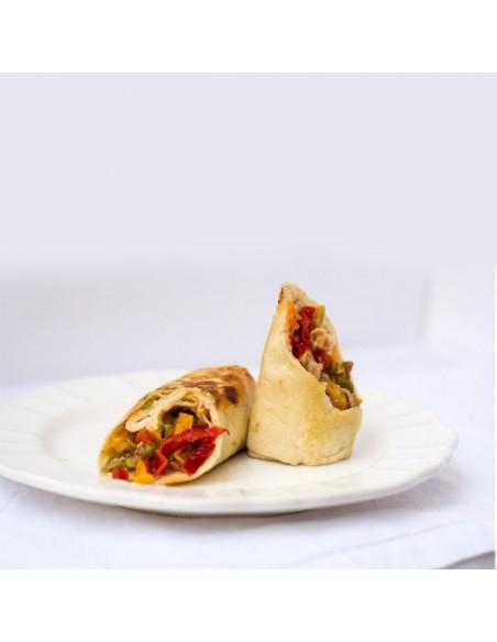 Burrito Pollo con Verduras