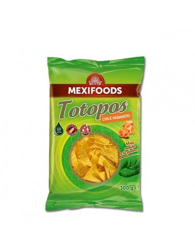 Totopos Fritos Habanero 300 g