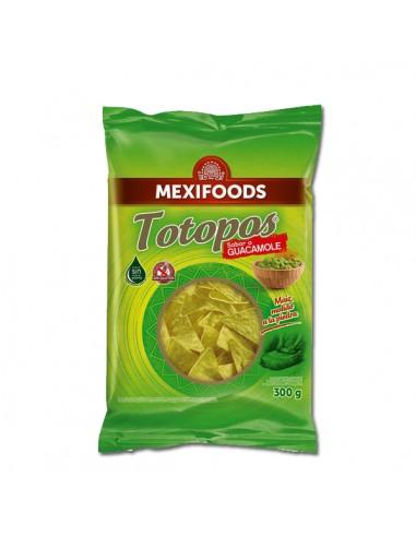Totopos Fritos Guacamole