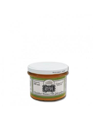 Salsa Queso Cheddar y Jalapeño