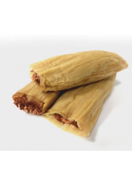 Tamales Rojos  (ternera)