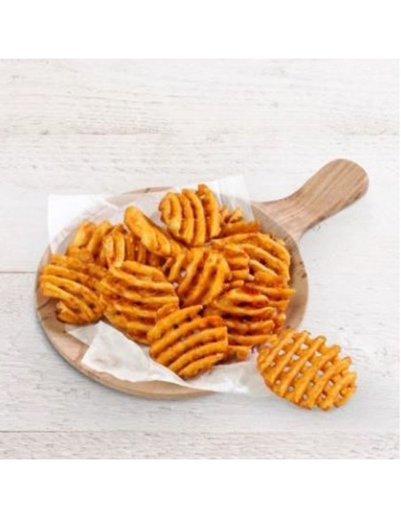 Patata Crisscut Spicy