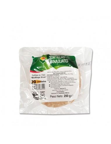 "Tortilla Maiz Blanco ""Mex Wraps"""