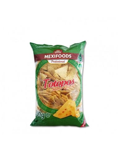Totopos Fritos Queso