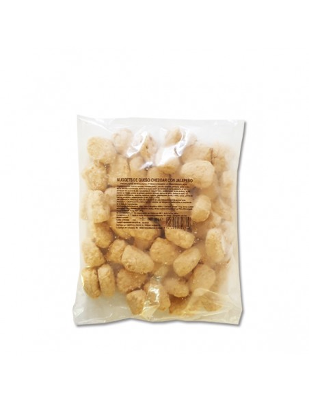 Nuggets Cheddar y Jalapeño