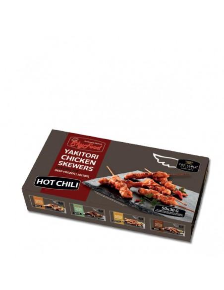 Brocheta Yakitori Hot Chili
