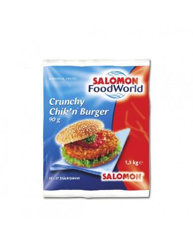 Crunchy Chik'n Burger Spicy