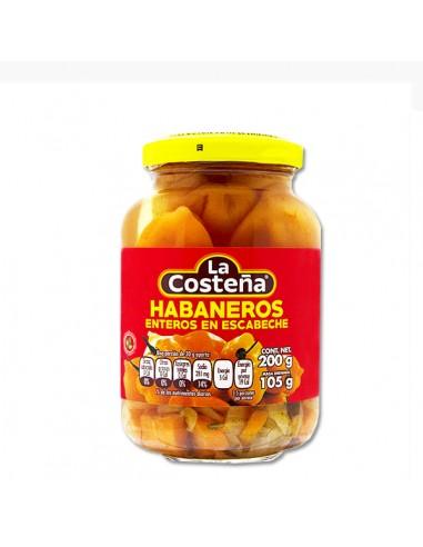 Chile Habanero Entero