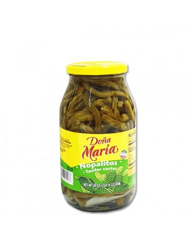 Nopalitos Tiras Doña Maria