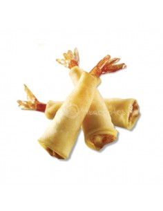 Langostino Torpedo en Filo Pastry