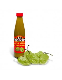 Salsa de Chile Habanero Verde