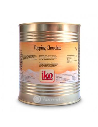 Topping de chocolate