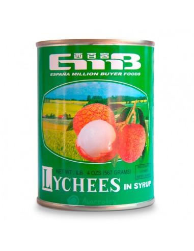 Lychees en Almíbar