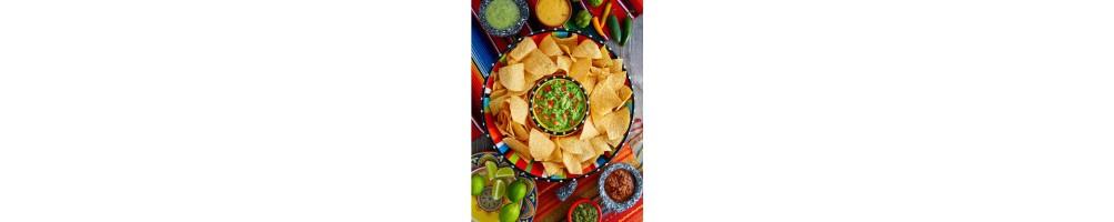 Totopos/Nachos y Tacos