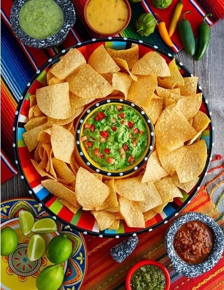 Totopos / Nachos y Tacos